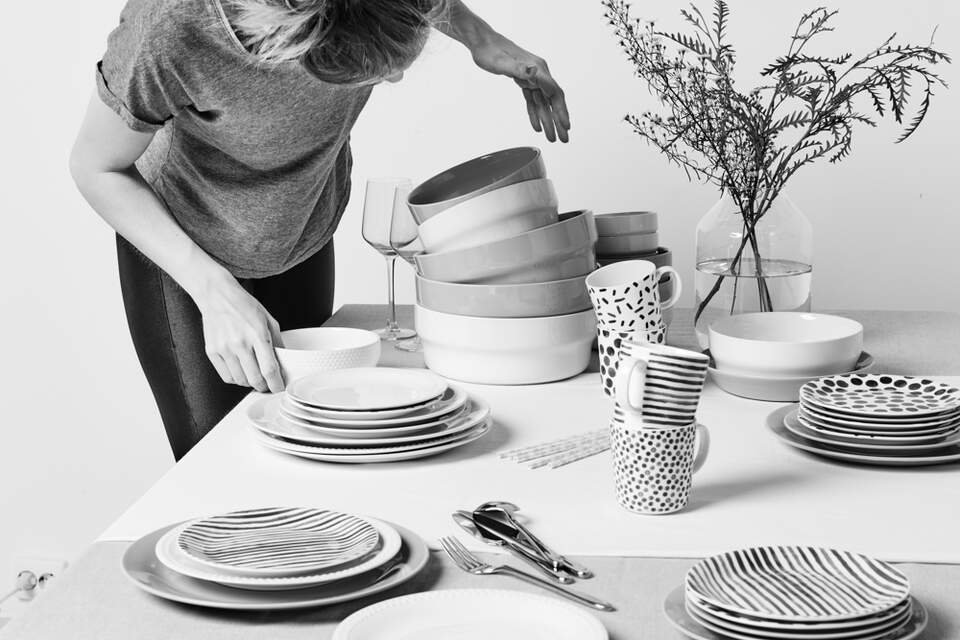 Hema, Tableware, Serviesgoed, Styling, Foto, Filmproductie, Studio Zelden