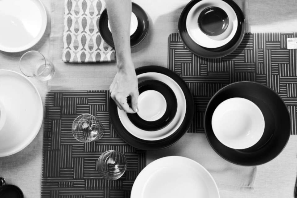 bts, flatlay, set, design, still, plates